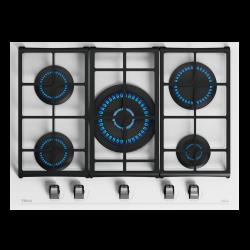 TEKA 112570104 11300W 5-zónás fehér beépíthető gáz főzőlap