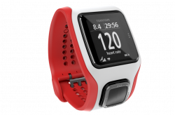 TomTom Runner Cardio 1RA0.001.01 GPS, Bluetooth fekete-piros sport óra
