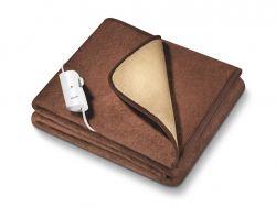 Beurer HD 100 Nagy méretű, barna fűthető melegítő takaró