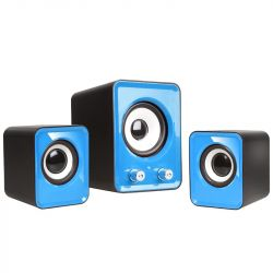 Tracer Omega 2.1 vezetékes USB kék / fekete hangszóró