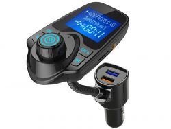 Tracer Soundcharge T1 fekete Bluetooth FM transmitter