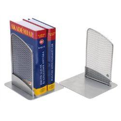Alba fémhálós ezüst könyvtámasz (2 db/csomag)