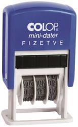 """COLOP """"S 160/L"""" Fizetve dátumbélyegző"""