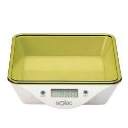 Solac BC 6260 LCD, 5 kg/1 g fehér tálas konyhamérleg