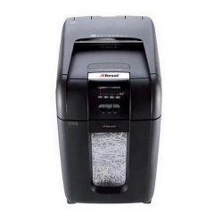 Rexel Auto+ 300X konfetti, 300 lap, fekete Iratmegsemmisítő