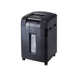REXEL Auto+ 600X konfettis, 600 lapos fekete iratmegsemmisítő