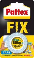 Henkel Pattex Fix 19 mm x 1,5 m kétoldalas kék ragasztószalag