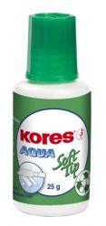 """KORES """"Aqua Soft Tip"""" 20 ml szivacsos vízbázisú hibajavító folyadék"""