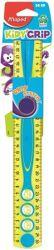 Maped Kidy Grip 30 cm gumírozott műanyag vegyes színű vonalzó