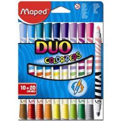 "MAPED ""Color`Peps Duo"" mosható Filctoll készlet"