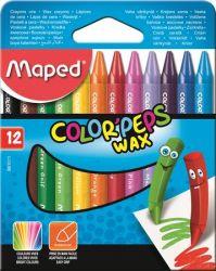 """MAPED """"Color`Peps Wax"""" 12 különböző színű zsírkréta"""