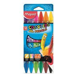 """Maped """"Color`Peps"""" 12 különböző színű olajpasztell kréta"""