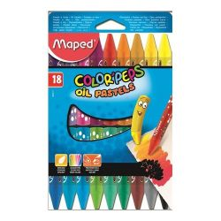 """Maped """"Color`Peps"""" 18 különböző színű olajpasztell kréta"""