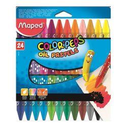 """Maped """"Color`Peps"""" 24 különböző színű olajpasztell kréta"""