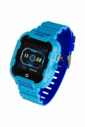 "Garett Kids 4G LCD 1.4"" GPS sötétkék-kék gumi okosóra"