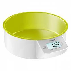 Sencor SKS 4004GR max. 5 kg, 1g-os pontosság, LCD zöld-fehér konyhai mérleg