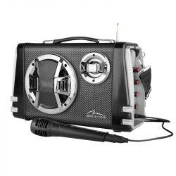 Media-Tech KARAOKE BOOMBOX bluetooth szürke hordozható hangszóró
