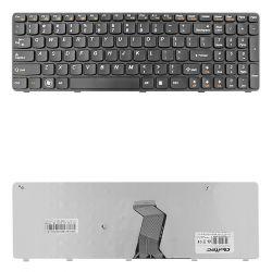 Qoltec IBM/Lenovo B570 B575 Z570 fekete notebook billentyűzet