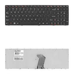 Qoltec Lenovo G580 G580A G585 G585A fekete notebook billentyűzet