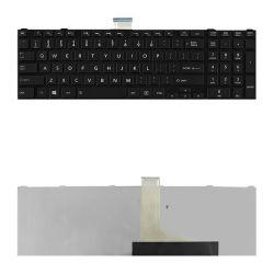 Qoltec Toshiba L850 fekete ENG notebook billentyűzet