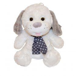 Axiom (4539b) 25 cm, Plush Silver collection fehér plüss kutya