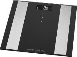 Profi Cook PC-PW 3007 FA 8 az 1-ben max. 180 kg, 10 felhasználó fekete-ezüst fürdőszobai mérleg