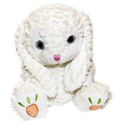 Axiom (5068B) 33 cm, Mascot Lukaszek  fehér plüss nyuszi