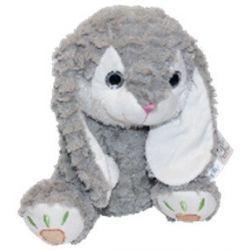 Axiom (5068a) 33 cm,  Mascot szürke plüss nyuszi