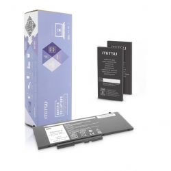 Mitsu Dell Latitude E5470, E5570  7.6V 6000 mAh 46 Wh Li-polymer notebook akkumulátor