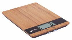 ORO-MED max. 5kg, LCD fa-fekete digitális konyhai mérleg