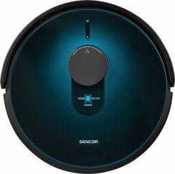 Sencor SRV 9250BK 2600 mAh Li-ion, 475 ml portartály fekete-kék robotporszívó