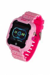 "Garett Kids 4G LCD 1.4"" GPS pink gumi okosóra"