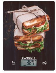Scarlett SC-KS57P56 max. 8 kg, 1 g pontosság mintás konyhai mérleg