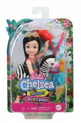 Mattel Barbie (GRT80/GRT83)  Barbie and Chelsea - az elveszett szülinap - Chelsea baba zebrás úszógumival