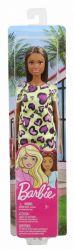 Mattel Barbie (T7439/GHW47) baba sárga szivecskés ruhában