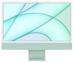 """Apple iMac MGPJ3ZE/A Retina 4.5K, 24"""", Apple M1, 8GB memória, 512GB SSD zöld asztali számítógép"""