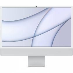 """Apple iMac MGPD3ZE/A Retina 4.5K, 24"""", Apple M1, 8GB memória, 512GB SSD ezüst asztali számítógép"""