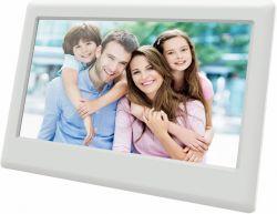 """Sencor SDF 742WH 7"""", 1024 x 600 fehér digitális képkeret"""