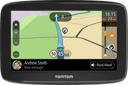 """TOMTOM 1BA5.002.00 5"""" WiFi, élettartam, EU, telefon üzenetek, fekete GPS navigáció"""