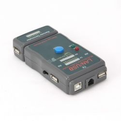 Gembird NCT-2 RJ-45 RJ-11 UTP STP USB AA/AB kábel tesztelő