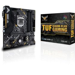 ASUS S1151 TUF B360M-PLUS Intel B360, mATX gaming alaplap