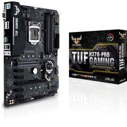 ASUS S1151 TUF H370-PRO Intel H370, ATX gaming alaplap