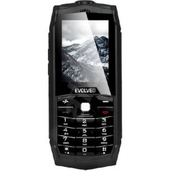 "EVOLVEO StrongPhone Z1 2.4"" Dual SIM 2G fekete mobiltelefon"