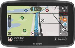 "TomTom Go Camper  6"" világtérkép fekete GPS Navigáció"