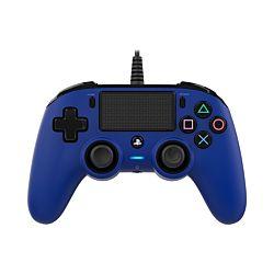 Bigben Nacon vezetékes kék PlayStation 4 kontroller