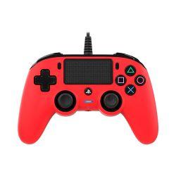 Bigben Nacon vezetékes piros PlayStation 4 kontroller