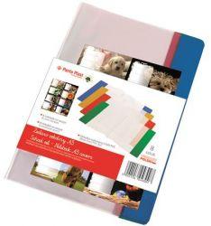 PANTA PLAST A5 PVC füzet- és könyvborító + füzetcímke