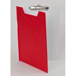 PANTAPLAST A4 piros-fehér fedeles felírótábla