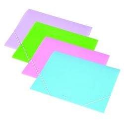 PANTA PLAST 15 mm A4 pasztell lila gumis mappa