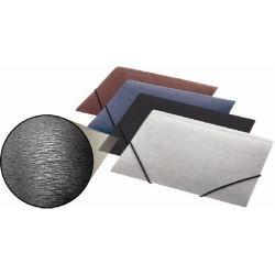 "PANTA PLAST ""Simple"" 15 mm A4 metál ezüst gumis mappa"